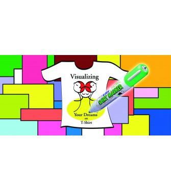 Markery do t-shirtów-komplet 4 kolorów (AR-002)
